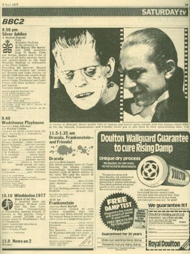 Double Bill One -Dracula (1931)   Dracula, Frankenstein and
